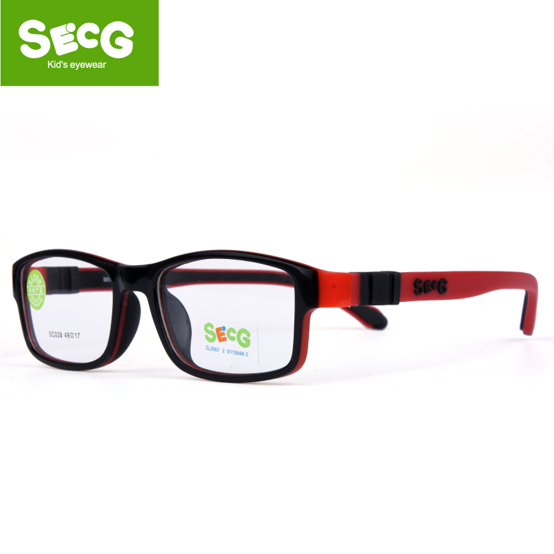 SECG Toddler Detachable Kids Frame Flexible Soft Optical Glasses Children Frame Diopter Eyeglasses Spectacle Frames Oculos Gafas