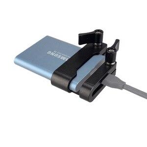 Image 5 - MAGICRIG Ốp dành cho Samsung T5 SSD Thẻ Kẹp có USB C Kẹp Dây Cáp Tương Thích Với MAGICRIG Khung Máy Ảnh cho BMPCC 4K Camera