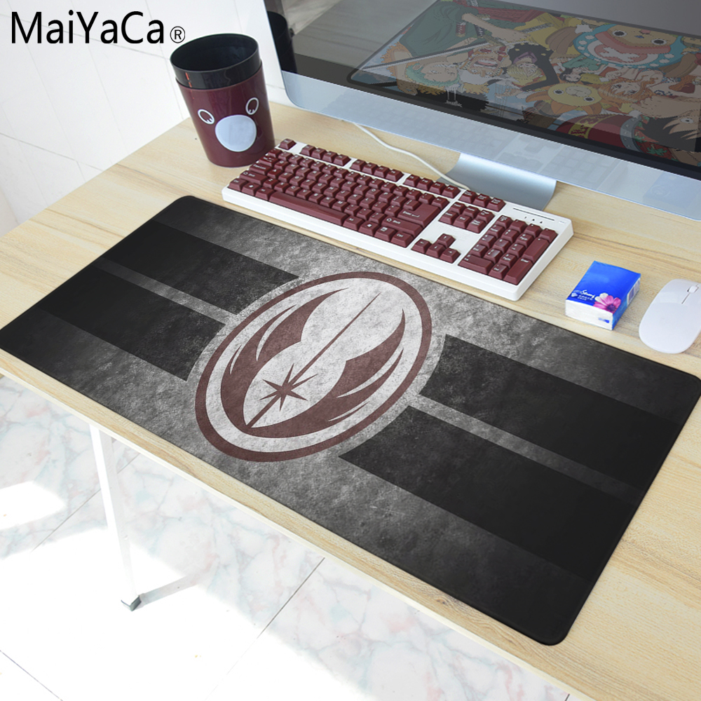 MaiYaCa Star Wars Simple Design Speed Game Mouse Pads Computer Gaming Mouse Pad Gamer font b