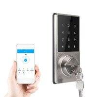 Телефон приложение Управление офисной квартиру дом Anti Theft Smart Touch Pad Кодовый замок безопасности запись пароль блокировки дверей