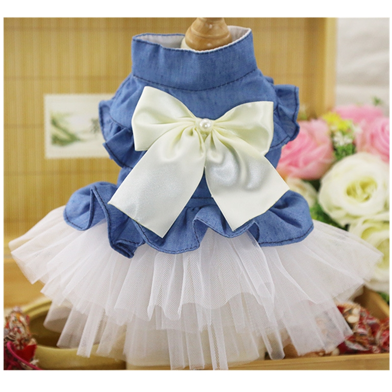 2018 Summer Autumn Dog Fancy Formal Holiday Outfit Jane Tops for Puppy Hoodies UK Wedding