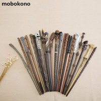 2017 New Arrive Metal Iron Core Cosplay Malfoy Dumbledore Hermione Voldemort Wand Harry Potter Magic Wand