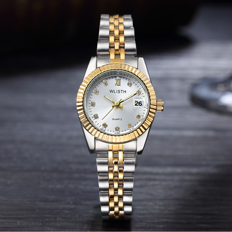 Sporting Lovers Watch Fashion Design Couple Ring Watch Dress Wristwatch Casual Steel Creative Watches Male Women Clock Relogio Feminino To Win A High Admiration And Is Widely Trusted At Home And Abroad. Lover's Watches