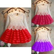 Нарядное платье с цветочным узором для маленьких девочек, милое платье для дня рождения, свадьбы, торжественные платья подружки невесты