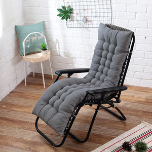 48x155cm Recliner Soft Back Cushion rocking chair cushions Lounger Bench cushion Garden chair cushion Long cushion(China)
