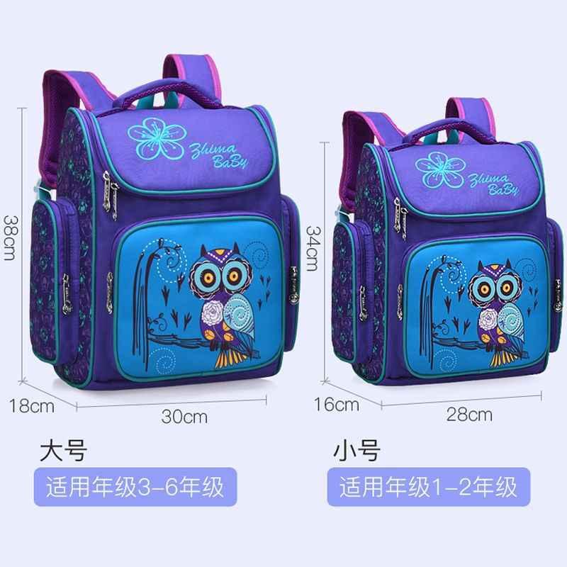 Mochilas escolares impermeables para niños y niñas, mochilas escolares ortopédicas para niños, mochila de dibujos animados para niños