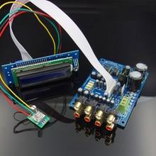 M62446 préamplificateur de contrôle de Volume à télécommande 6 canaux écran LCD 5.1 préampli de Volume Audio NE5532 OP ampli pour amplificateur