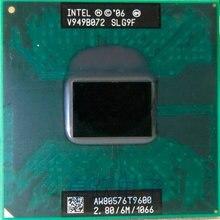 送料無料インテル cpu のノートパソコンコア 2 デュオ T9600 CPU 6M キャッシュ/2.8/1066/デュアルコアソケット 479 プロセッサ t9900 P9600 GM45 PM45