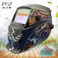 black Chameleon Welder Mask PP Skull Solder Mask Electronic Custom Auto Darkening Welding Mask solar and battery GD06(2233FF)W