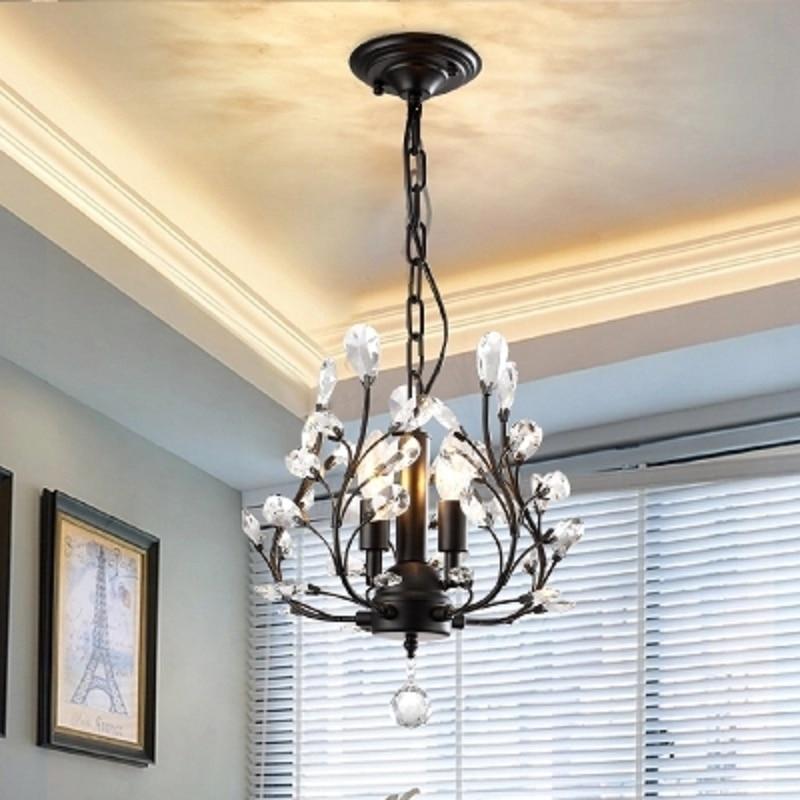 American small chandelier bedroom corridor entrance aisle Nordic ...