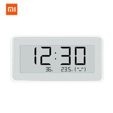 Xiaomi MiaoMiaoCe E קישור דיו LCD מסך דיגיטלי שעון מד לחות דיוק גבוה מדחום טמפרטורת לחות חיישן