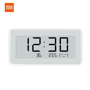 Image 1 - Xiaomi MiaoMiaoCe E Link INK  LCD Screen Digital clock Moisture Meter High Precision Thermometer Temperature Humidity Sensor
