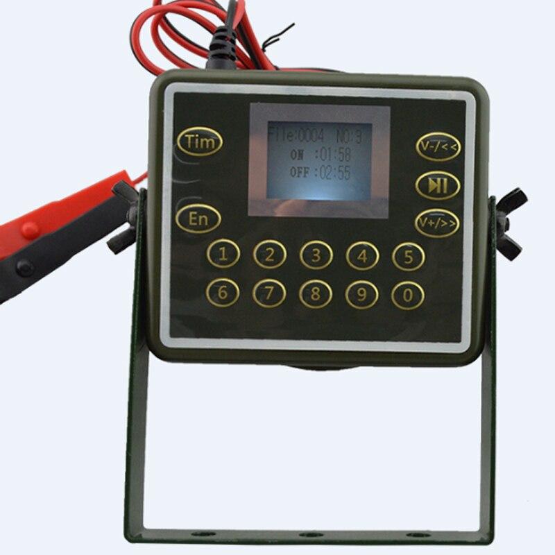 Waterproof & Desertproof MP3 Player Built-in 60W Speaker & 340 Songs Included 6 Language LCD Display Numeric Keypad Control