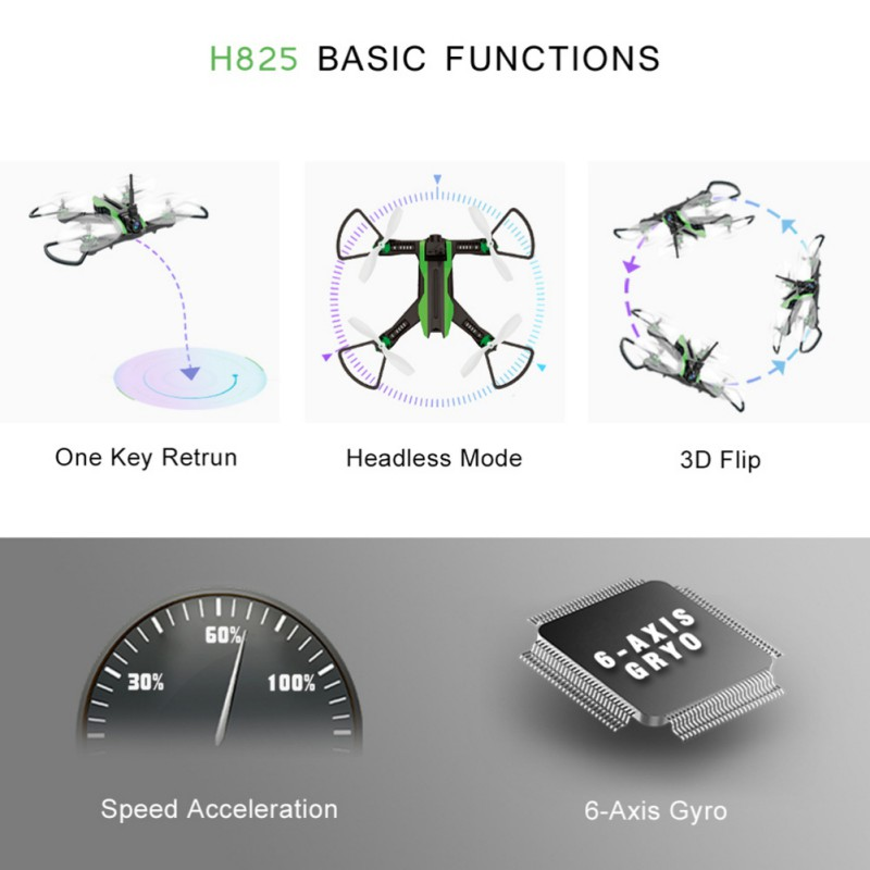 Mode Baby Speelgoed Remote Crossing VR Drone Speed Machine Low-Power Alarm Schort Sterke Doorkruisen