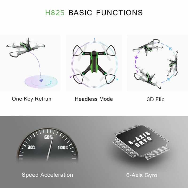 الأزياء ألعاب الأطفال عن معبر VR Drone سرعة آلة الطاقة المنخفضة إنذار ساحة قوي عبور