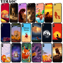 YIMAOC Cartoon The lion king 2019 Soft Silicone Phone Case for