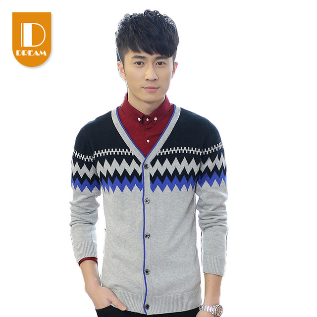 2015 New Autumn Hand Knitted Sweater Fashion Sweater Long Pullover