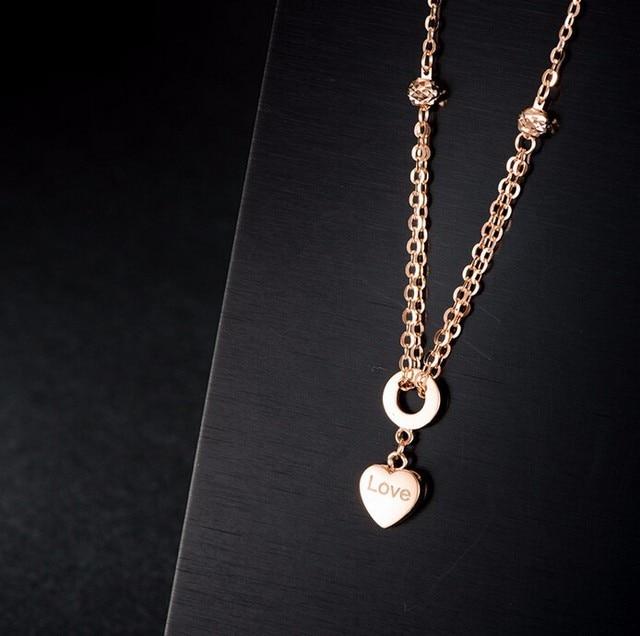Pure Italy18k Rose Gold Bracelet/ Craved heart Link Chain Bracelet/2g  Hot sale 5