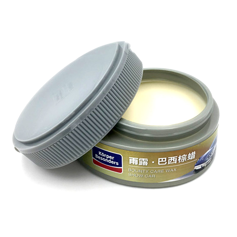 Car styling natural carnauba wax polish hard wax for car body repair auto care scratches remover rubber car paint care