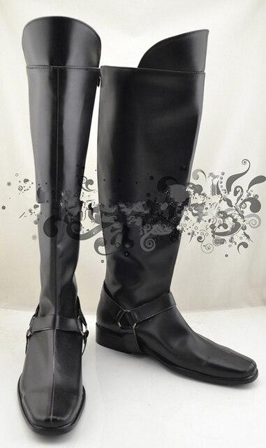 Neue Sanosuke Cosplay Schuhe von Hakuouki stiefel