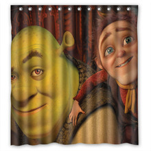 165180 CM Shrek 2 Personalized Custom Shower Curtain Bath Waterproof Free Shipping