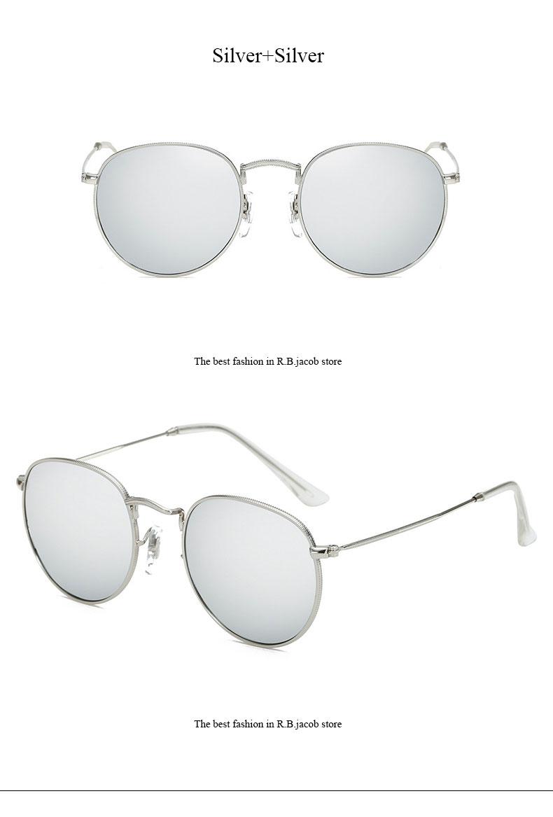 HTB1vECvQVXXXXXwXpXXq6xXFXXXw - Round Sunglasses Women Retro Brand Designer Classic Rose Gold Steampunk Sun Glasses Men UV400 Rayed Mirror Female UV400