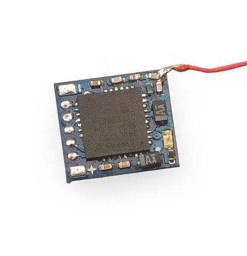 Micro 2.4g 5ch DSM/2 Receptor com Entrada PPM para DIY Mini RC Escova/Brushless Zangão Piloto interior