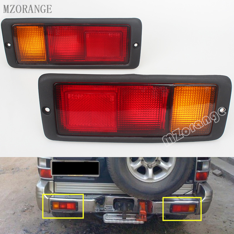 MZORANGE 2pcs Left Right Rear Tail Light font b Lamp b font MB124963 MB124964 214 1946L