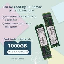 1 ТБ 1000 ГБ SSD для 2013 2014 2015 Macbook Air 2013 2014 2015 Macbook iMac 2013 2014 2015 pro 2014 Мини твердотельный диск