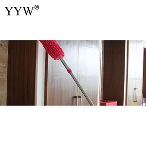 Image 4 - 1pc Dust Clean Holder Flexible Duster Brush Static Anti Dusting Cleaner Brush Home Air Condition Car Furniture Cleaning Tools
