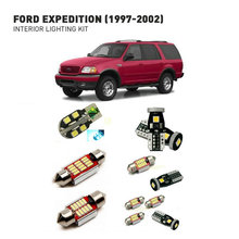 Led interior lights For Ford expedition 1997-2002  14pc Led Lights For Cars lighting kit automotive bulbs Canbus цена в Москве и Питере