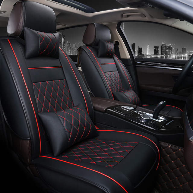 front rear luxury leather car seat covers for citroen all models rh aliexpress com