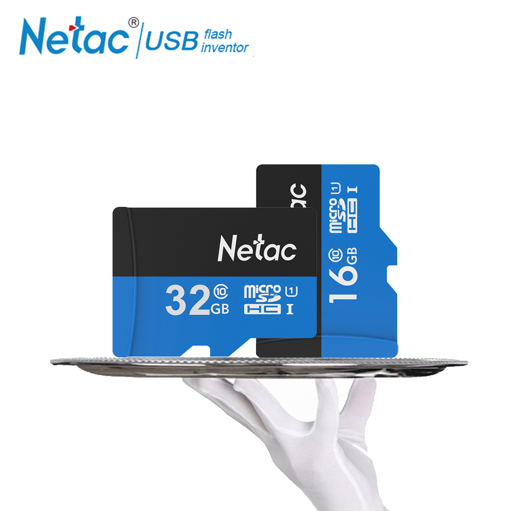 Netac Class 10 16GB 32GB Micro Card SDHC TF Card Flash Memory Card Data Storage High Speed 80MB/s Micro SD Card For Phone 200