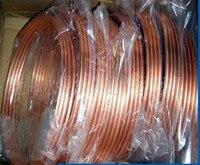 1M Diameter 4 1mm TPm2 Red Copper Coil Pipe Air Condition Copper Pipe DIY Laptop CPU