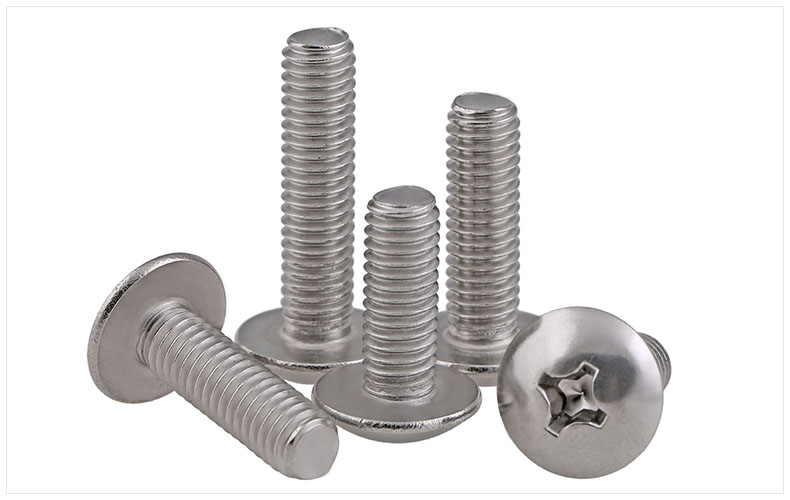 316 stainless steel Round head screws truss Mushroom M3 M4 M5 M6 screws TM screws экраны для проекторов draper cineperm truss ntsc 3 4 762 300 458x610 m1300