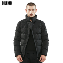 New Fashion Parka Men Stand Collar Thick Youth Trend Warm Mens Winter Jackets High-quality Mens Jackets And Coats Winter