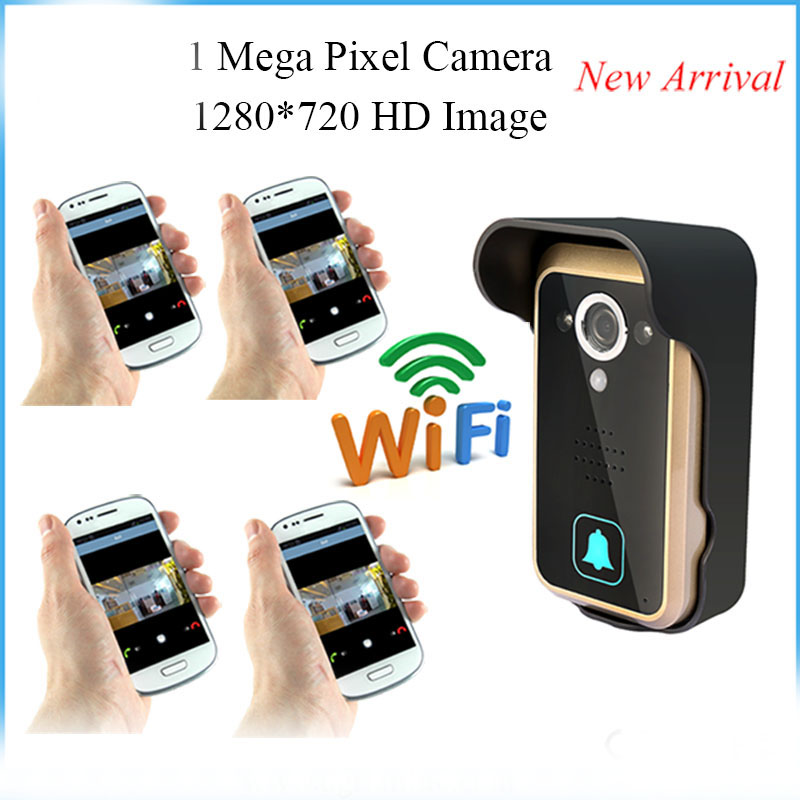 APP Remote Control 720p WIFI Video Door Phone app remote control 720p wifi video door phone