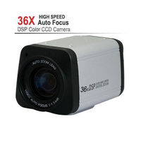 CCTV 1 3 Sony 800TVL 36X Optical Zoom DSP Color Video Box Camera Auto Focus