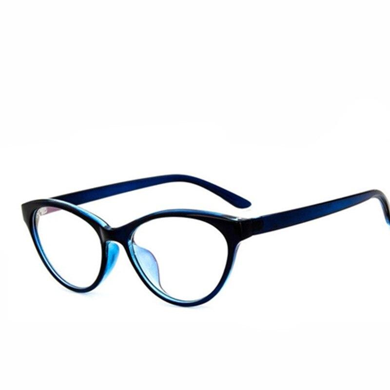 ba391e4eaf52b Fashion Women Cat Eye Glasses Frames Cat s Eye Clear Eyeglasses Ladies  Spectacles Frame Retro Women s Glasses
