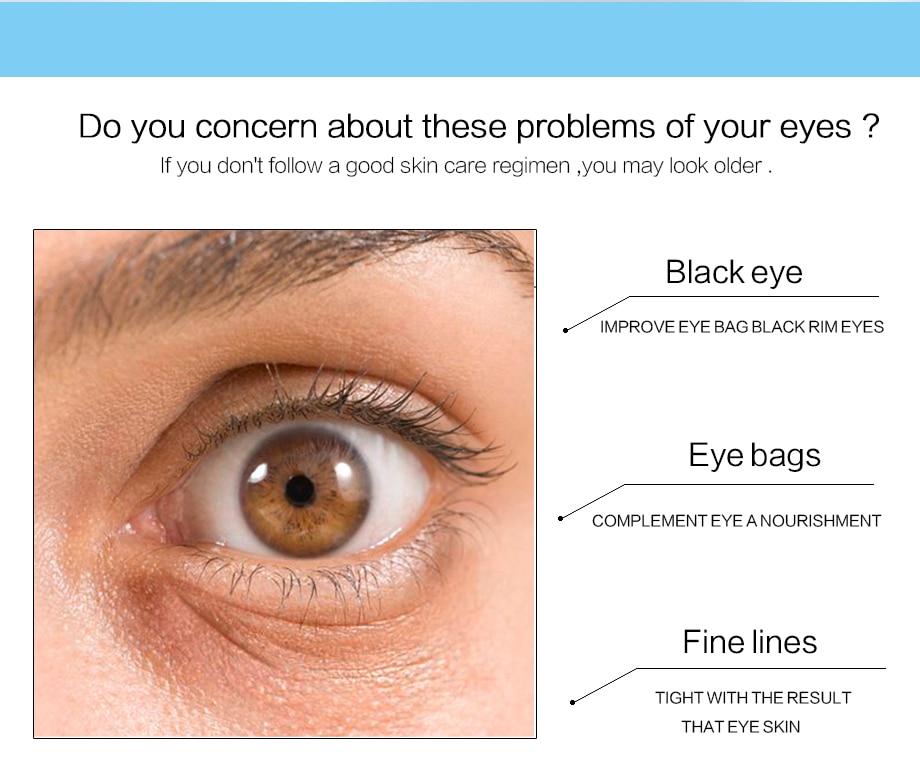 60pcs Collagen Eye Mask Anti Wrinkle Sleeping Eye Patch Dark Circles Eye Bags Remover Gel Mask Moisturizing Firming Eyes Care in Creams from Beauty Health