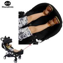 Baby Yoya Stroller Accessories Extended Footrest Bumper Set Yoyo Stroller Accessories Baby Carriage Relax Foot Pram For Kids