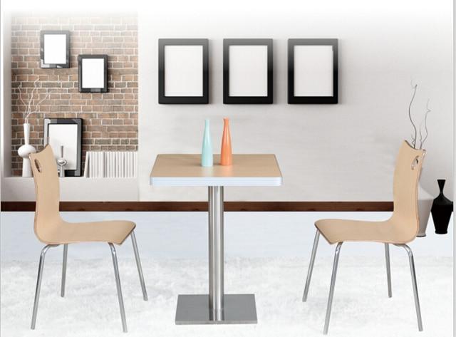 Mesa de comedor conjunto mesa de restaurante y pequeña mesa de café ...