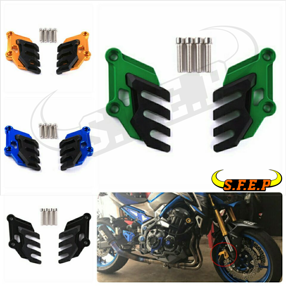 2017-2018 For Kawasaki Z900 The Front Brake Caliper Protector