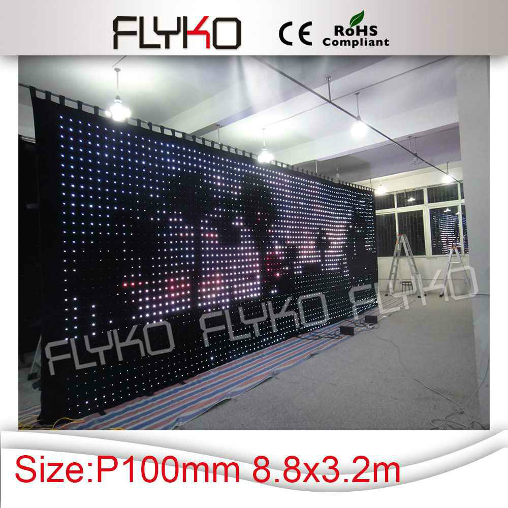indoor used stages for concerts soft led video curtain xx photos