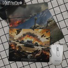цена на MaiYaCa  World of Tanks Customized laptop Gaming mouse pad Rubber PC Computer Gaming mouse pad