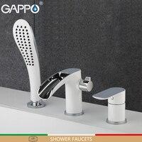 GAPPO shower faucet bathroom faucet bath shower mixer basin sink faucets deck mounted rainfall Bathroom taps system