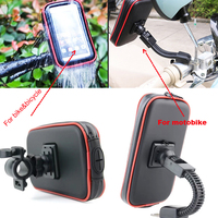 Touch Screen Bicycle Motocycle Bike Mobile Phone Holders Case Bags For Oukitel U7 Pro K6000 U11