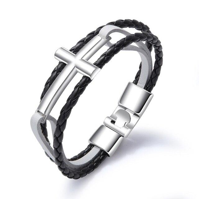 Купить женские и мужские браслеты из нержавеющей стали черного белого картинки