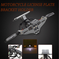 Motorcycle Rear License Plate Frame Number Plate Holder For Yamaha XJR FJR 1300 1200 YZF750R FZR1000 EXUP YZF1000R Thunderace