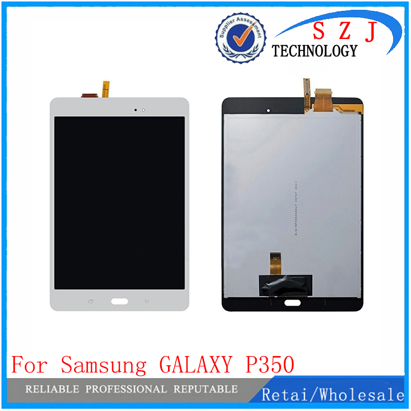 New 8'' For Samsung GALAXY Tab A P350 LCD Display with Touch Screen Digitizer Sensors Full Assembly Panel LCD Combo Replacement new 8 for samsung galaxy tab a p350 lcd display with touch screen digitizer sensors full assembly panel lcd combo replacement